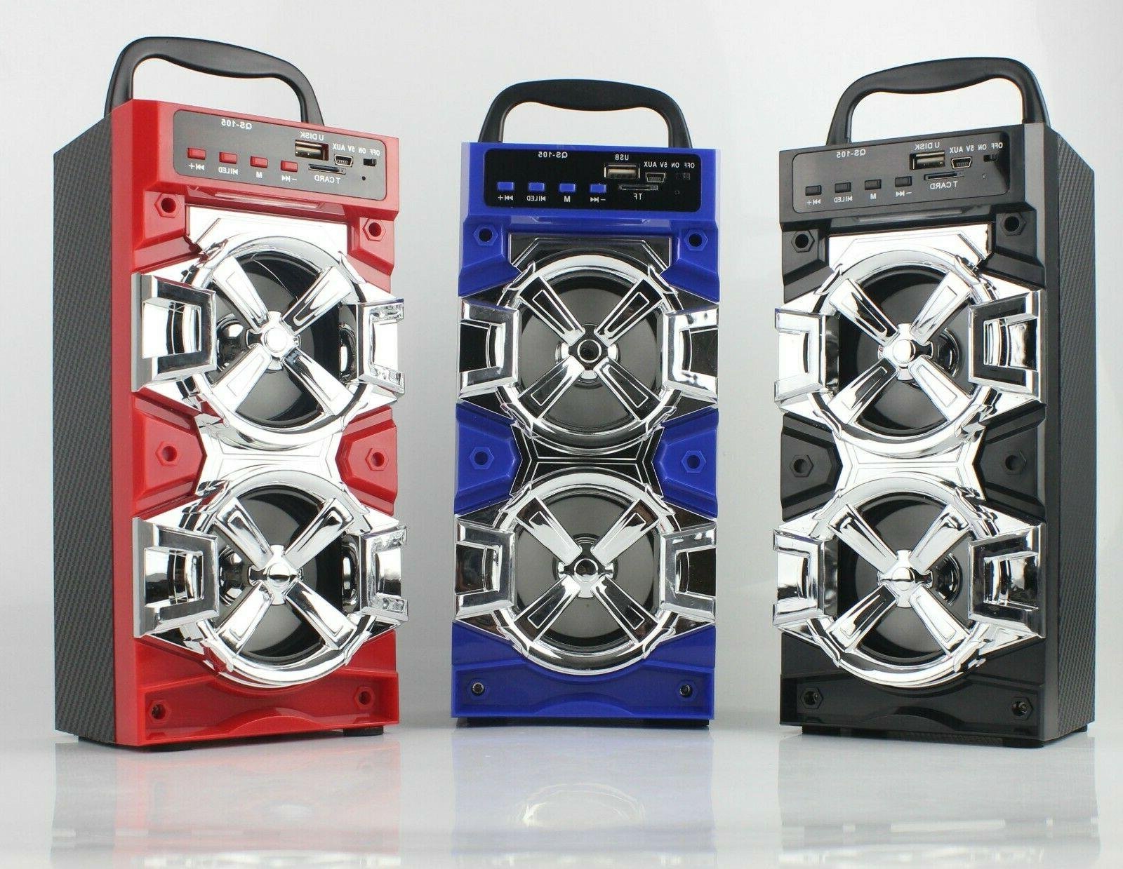 Bluetooth Outdoor Wireless Speakers Radio