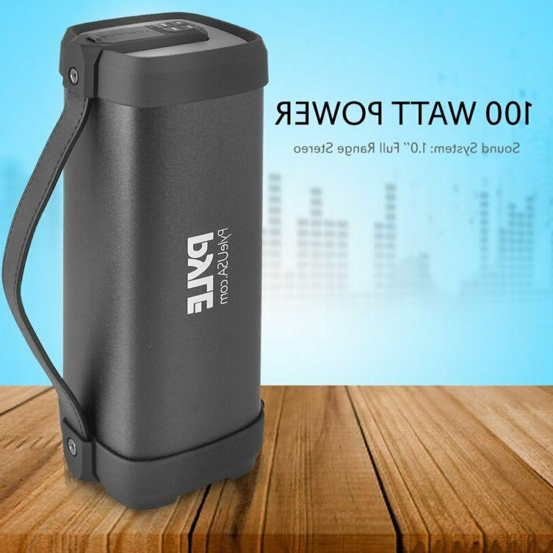 Bluetooth Wireless Pyle 100 Rugged Compact