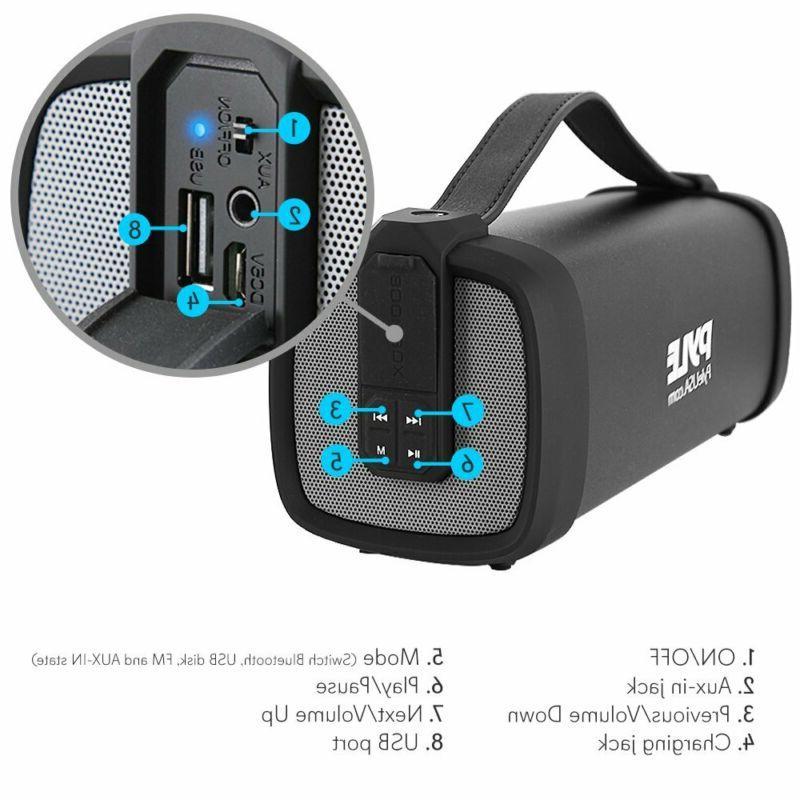 Bluetooth Pyle Rugged