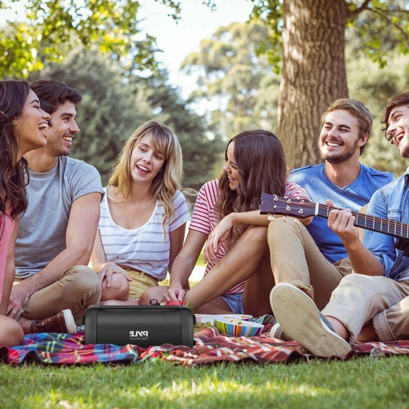Bluetooth Speaker Wireless Portable Pyle Rugged Audio