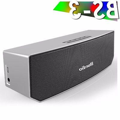 Bluedio BS-3 Bluetooth 4.1 Wireless 3D Soundbar Subwoofer Po