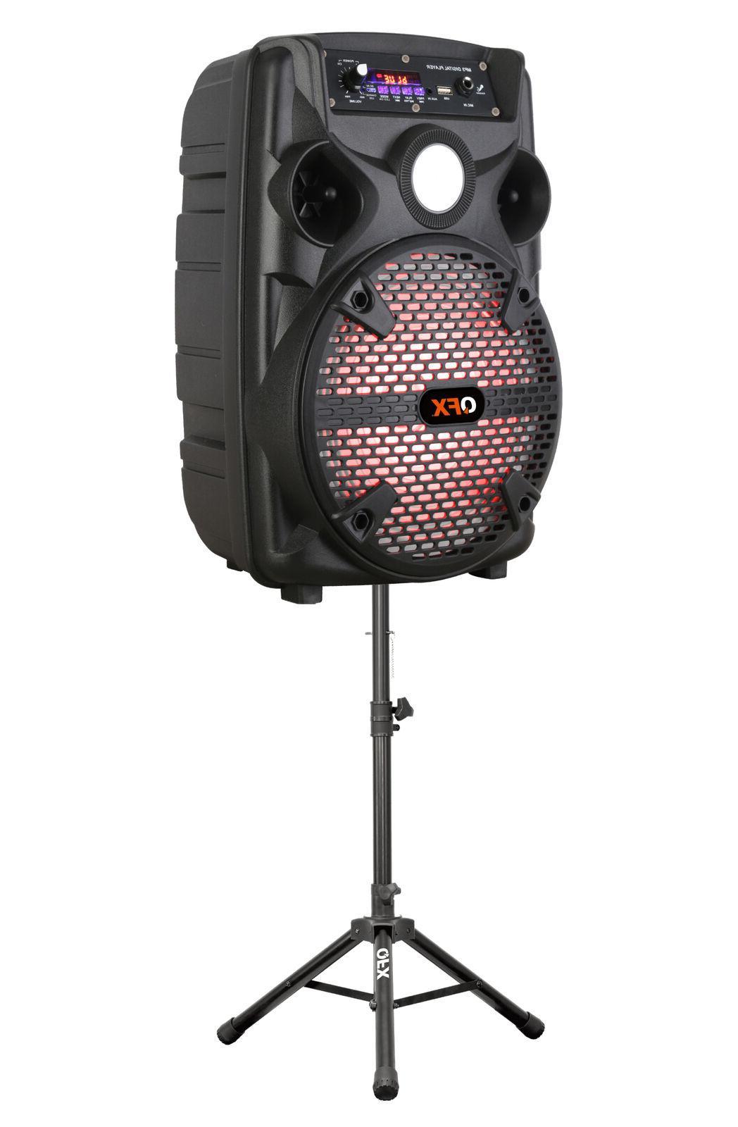 QFX PA Speaker +Tripod/Mic