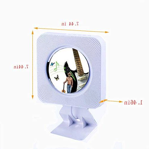 Portable Player, Alice Dreams CD Music Bluetooth 3.5MM Headphone
