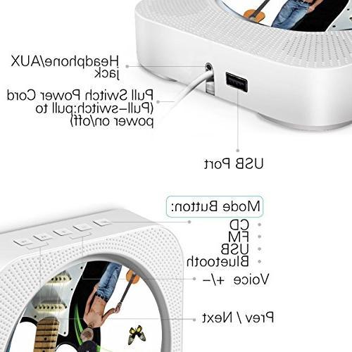 Portable cd Dreams CD Speaker MP3 Remote and MP3 3.5MM AUX