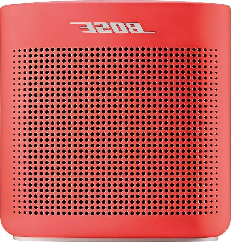 Coral Red Soundlink Color Portable Bluetooth Speaker II