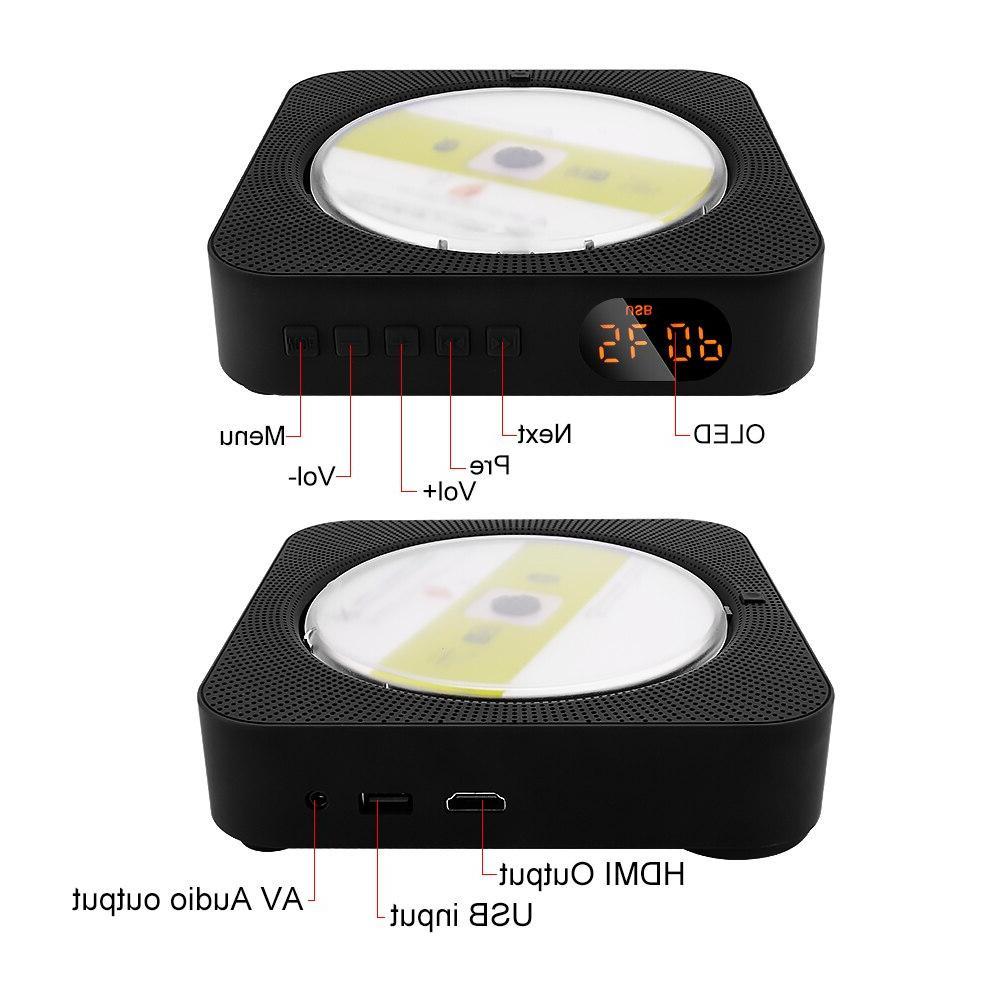 AIYIMA Mounted <font><b>Speaker</b></font> English Prenatal Education Audio Boombox AV <font><b>Bluetooth</b></font>