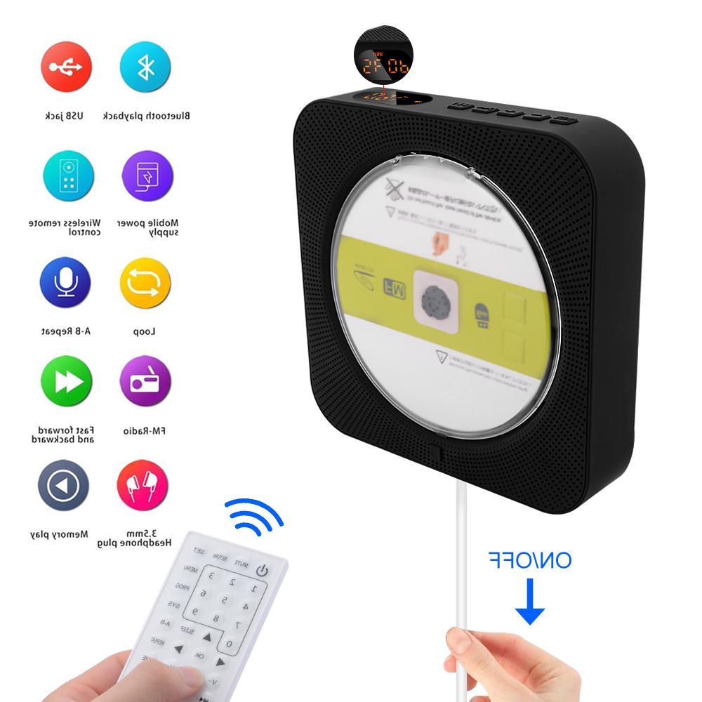 AIYIMA Mounted <font><b>Bluetooth</b></font> <font><b>Speaker</b></font> Prenatal Audio Boombox AV DVD
