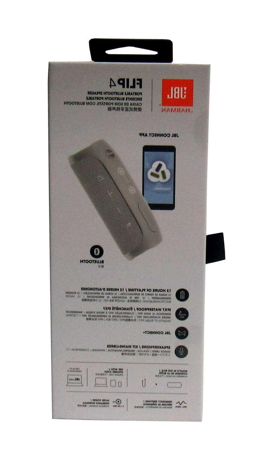JBL 4 Waterproof Portable Speaker Teal- Sealed *FLIP4TEAL