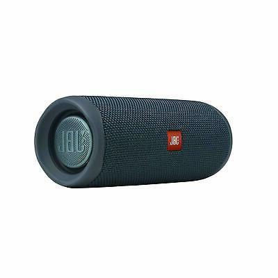 JBL Flip 5 Waterproof Bluetooth Speaker Blue