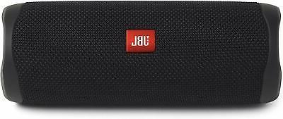 flip 5 waterproof portable bluetooth speaker black
