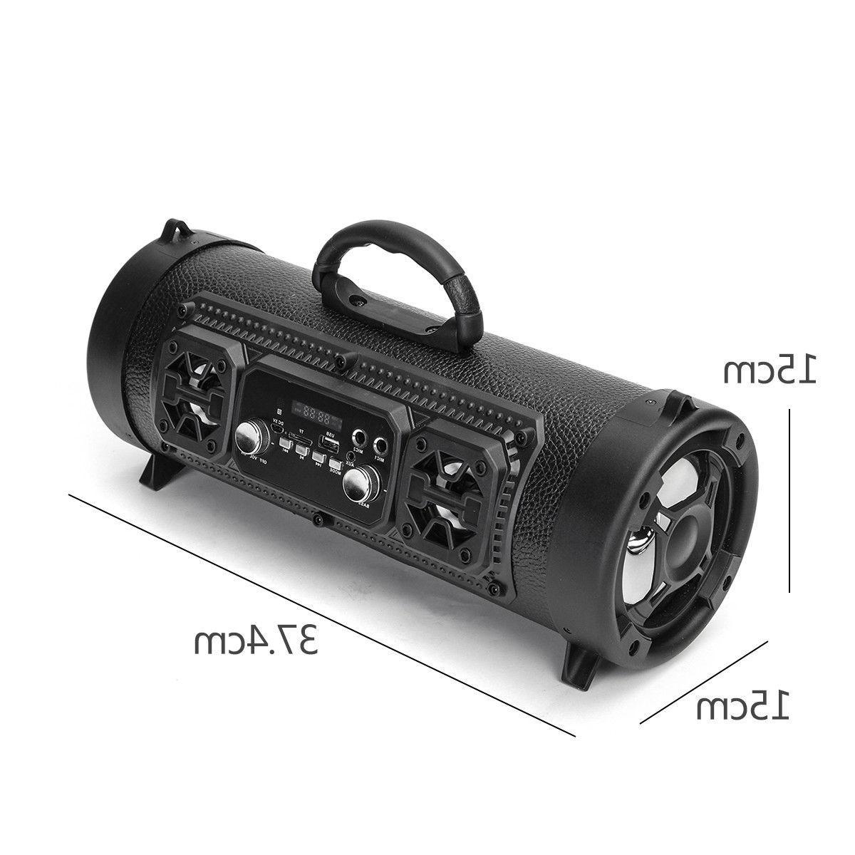 Wireless bluetooth Speaker Stereo Super Bass AUX Music
