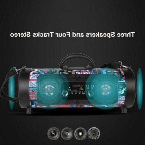 FM Wireless Loud Bass Sound