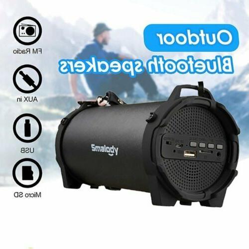 LOUD BLUETOOTH SPEAKER Portable Wireless Boombox Aux Recharg