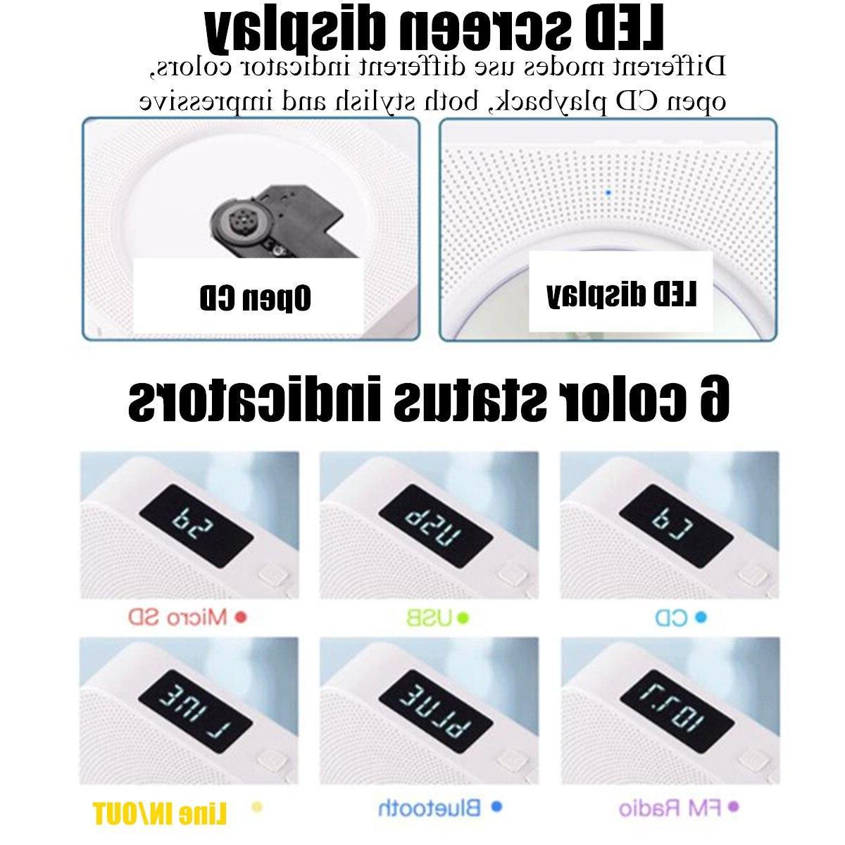 <font><b>CD</b></font> Wall <font><b>bluetooth</b></font> Box FM Radio <font><b>Speakers</b></font> MP3 100-240V