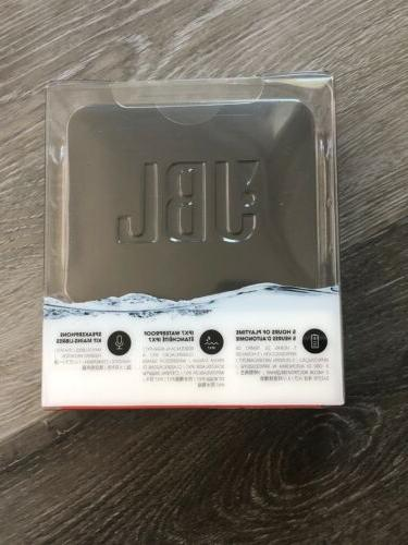 JBL Bluetooth Waterproof Speaker Black Sealed!