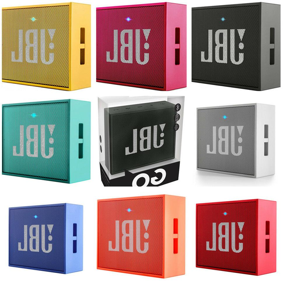 JBL GO Portable Wireless Bluetooth Speaker W/ A Built-In Str