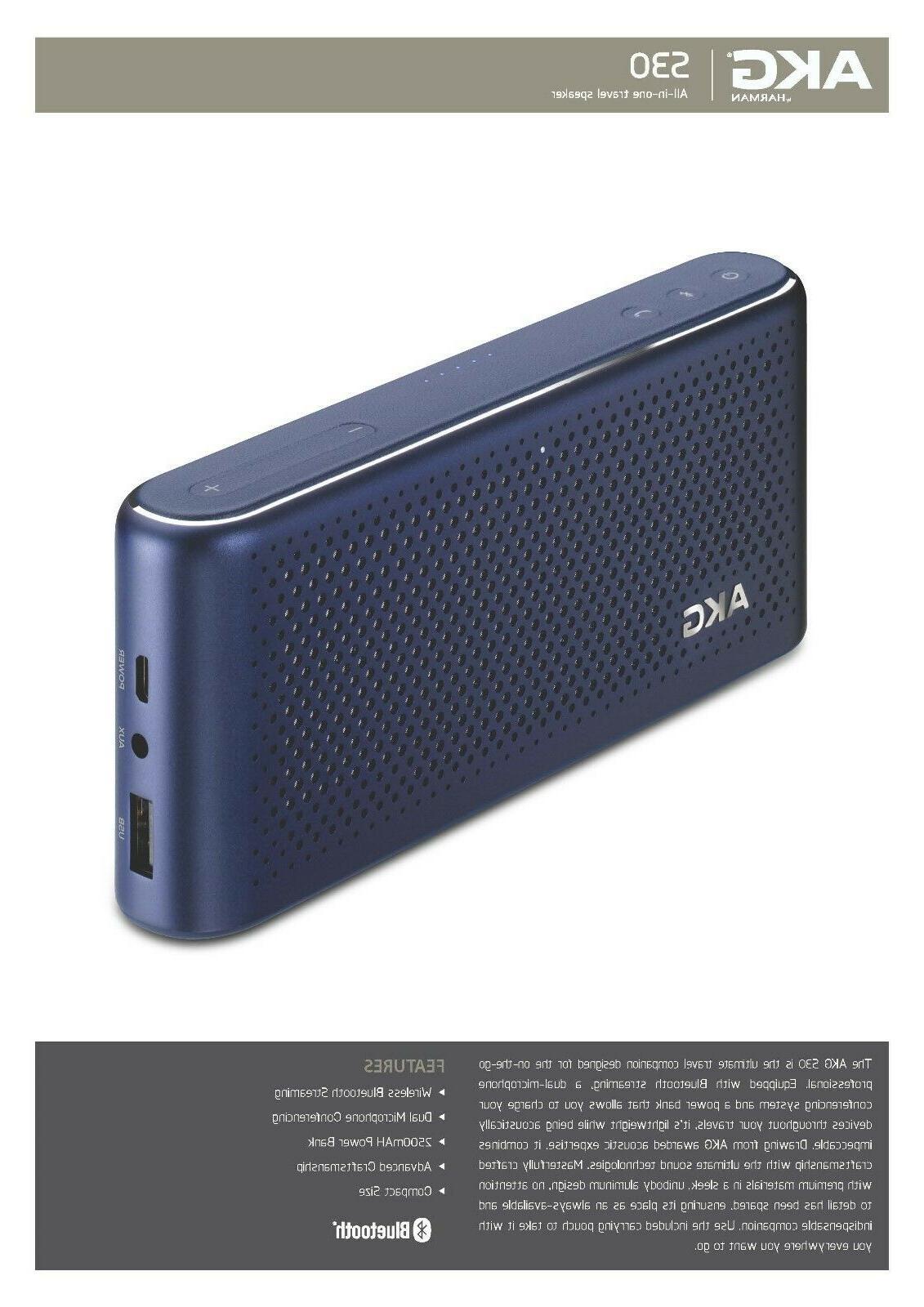 Bluetooth New Sealed Warranty Blue