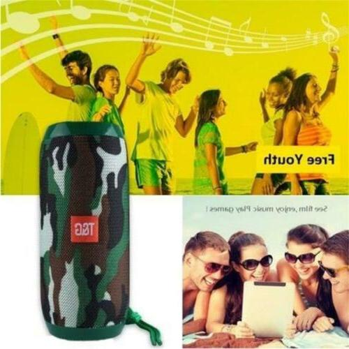 HiFi Speaker Portable Indoor/Outdoor Card/FM/Mic
