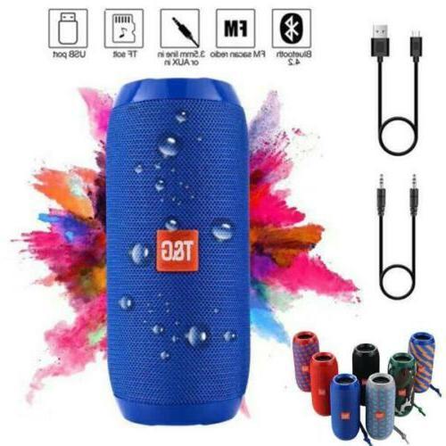HiFi Bluetooth Portable USB/TF Card/FM/Mic