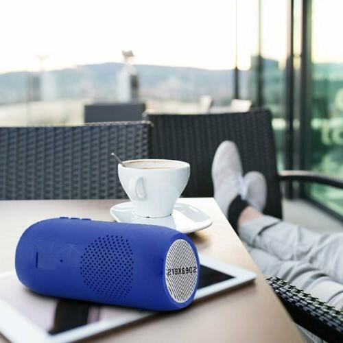 HiFi Wireless Speaker Portable Indoor/Outdoor USB/TF Card/FM/Mic