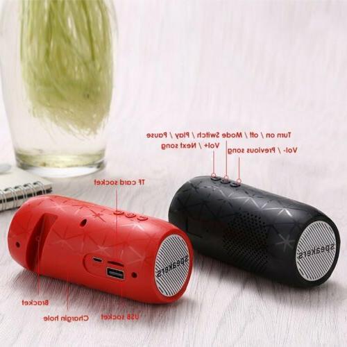 HiFi Wireless Portable Indoor/Outdoor Mini USB/TF
