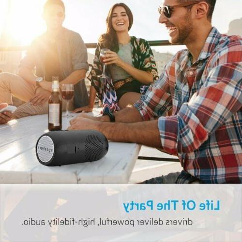 HiFi Wireless Speaker Portable Card/FM/Mic