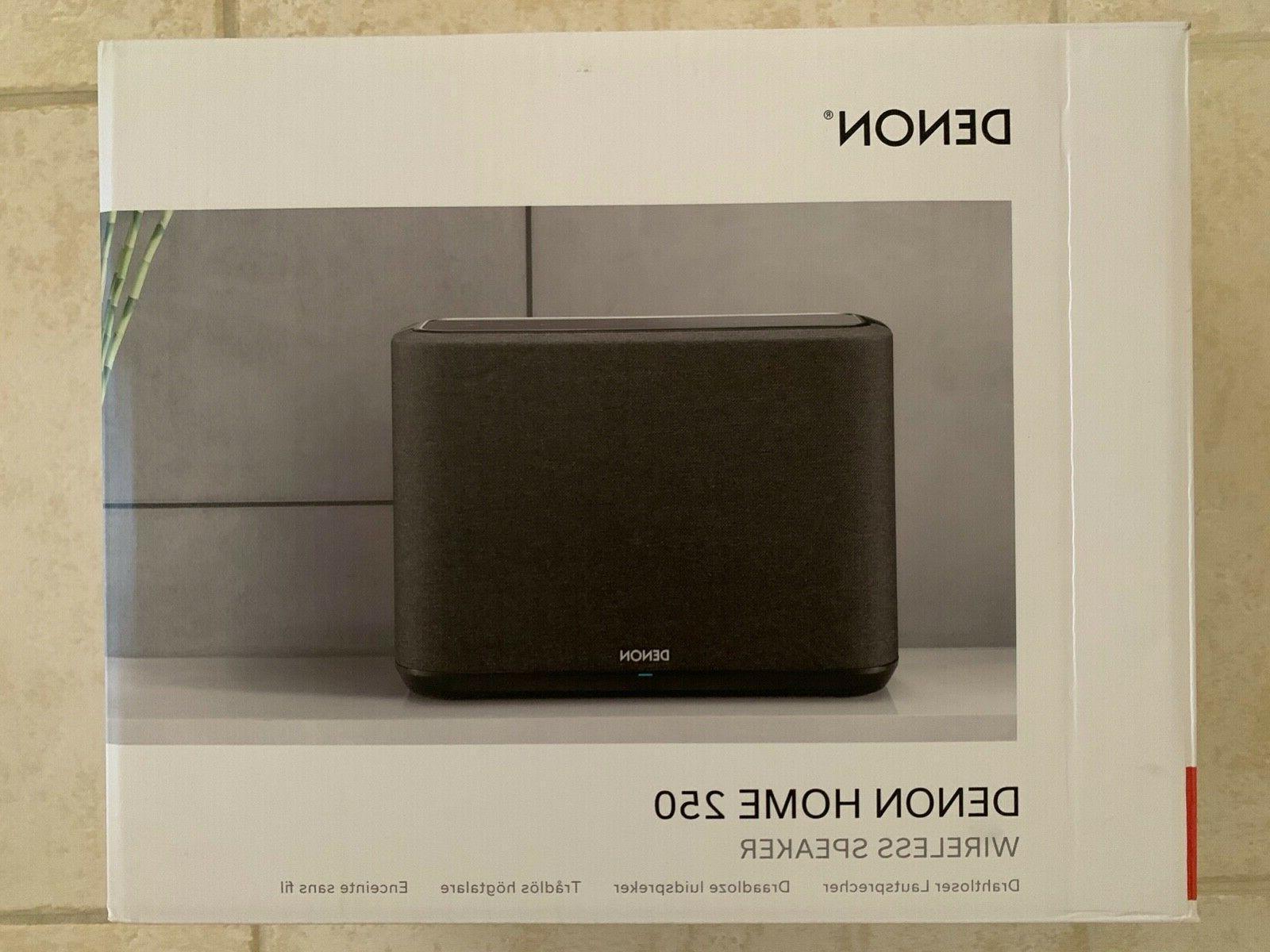 home 250 wireless streaming speaker white