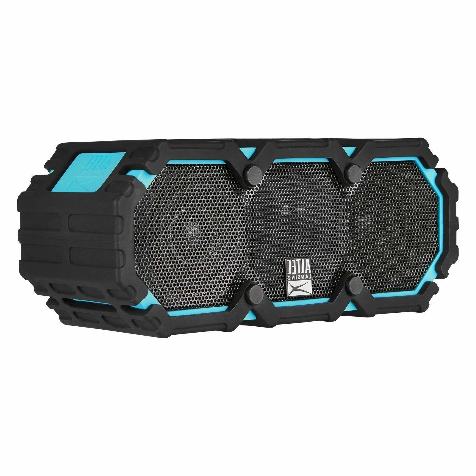 imw477 mini lifejacket wireless bluetooth speaker blue
