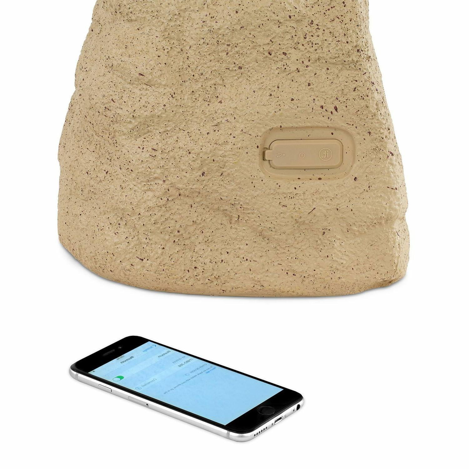 Innovative Technology Outdoor Wireless Rock Tan