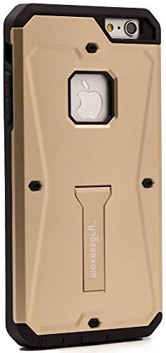 iPhone 7 Plus Case, iPhone 8 Plus  Case, Maxessory Gold Jets