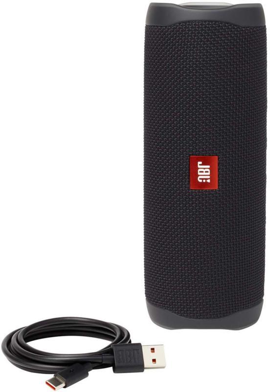 JBL 5 Waterproof Portable Bluetooth - Black