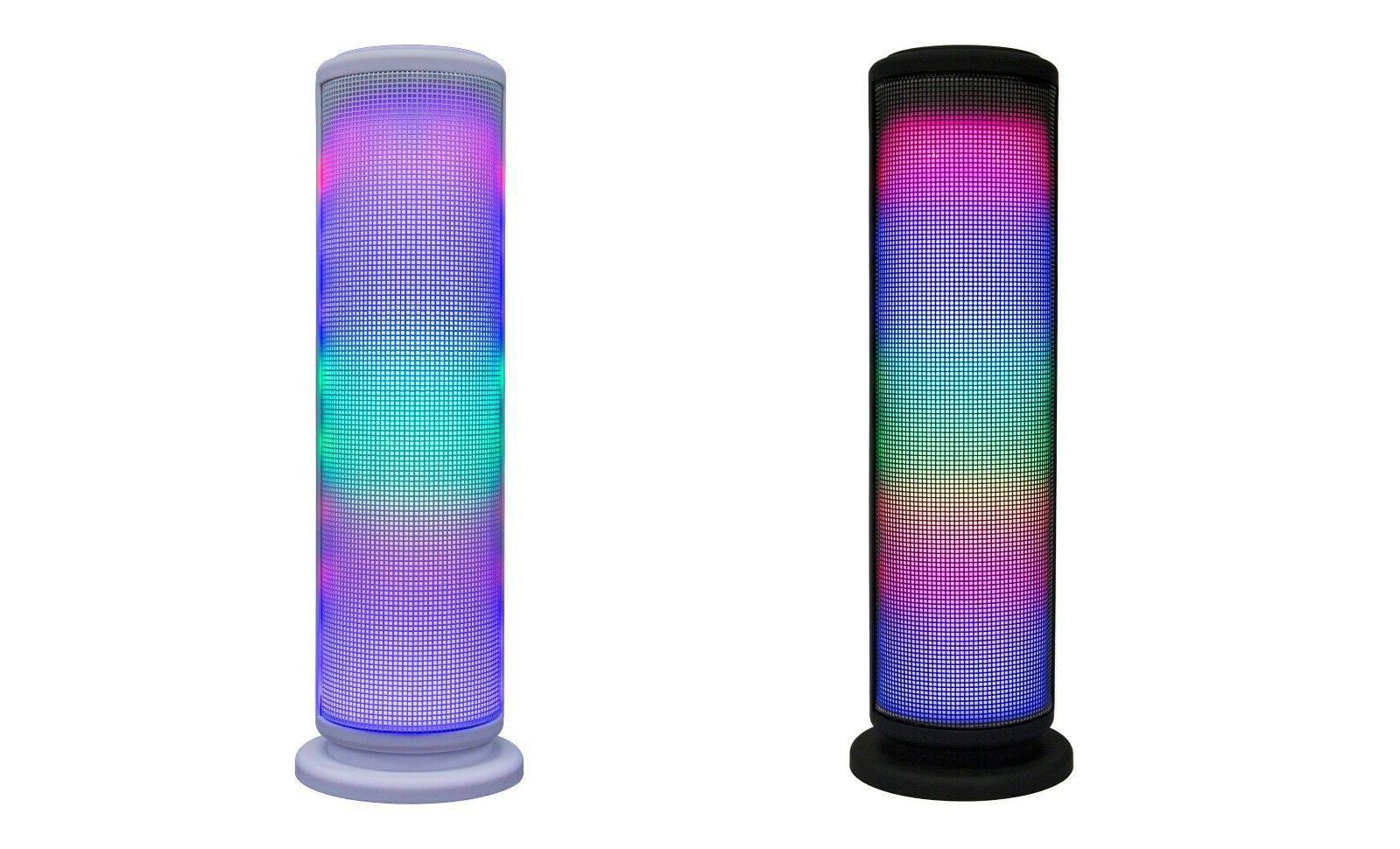 led bluetooth wireless tower speaker