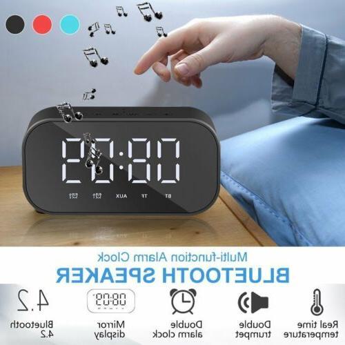 Alarm Bluetooth Speaker   Bluetooth-speaker org