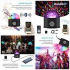 Samsion LED Disco Ball Party Lights Bluetooth Speaker Sound