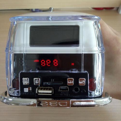 Speaker Portable FM Docks Home Speakers