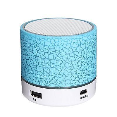 LED Mini Portable Wireless Bluetooth Speaker A9 USB Music So