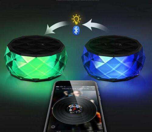 LED Portable Mini Speaker Speaker FM Radio