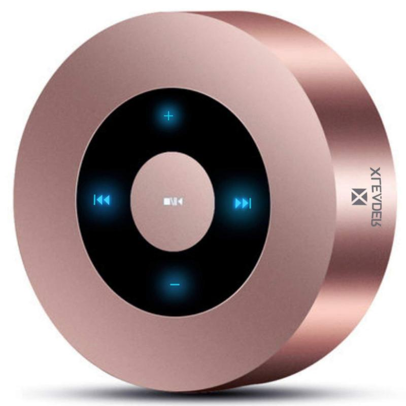 XLeader Portable Music Micro SD LED Touch Design Bluetooth Speaker Take Calls