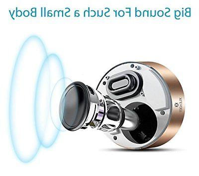 LED Bluetooth Speaker XLeader Quality Bluetooth Speaker