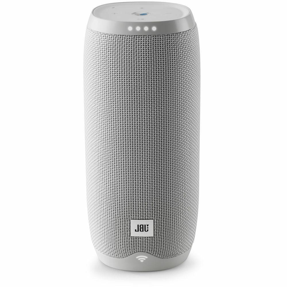 New JBL LINK Smart Portable Google Assistant Black