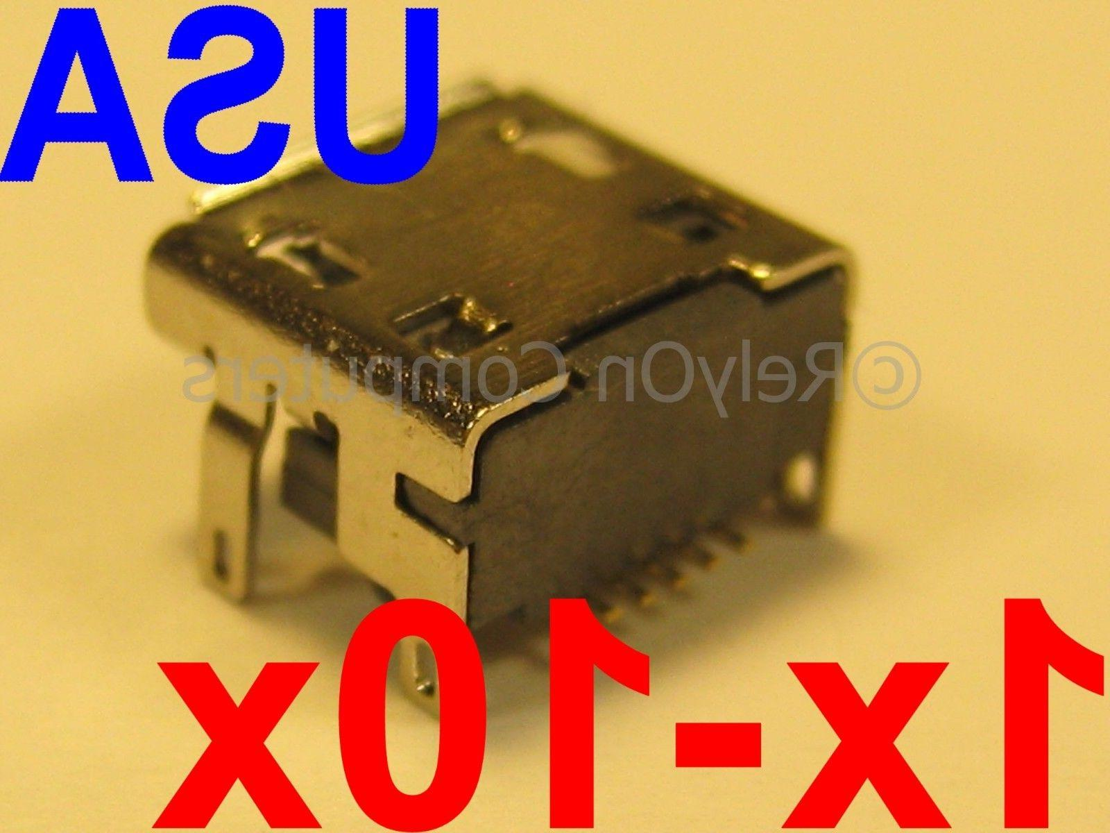 Lot of Micro USB Charging Charger Port OEM Replacement for J