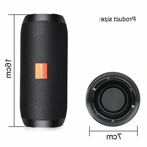 40W Bluetooth Wireless Outdoor USB/TF/AUX FM