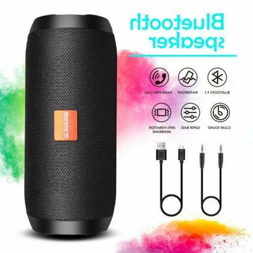 40W Portable Bluetooth Speaker USB/TF/AUX FM