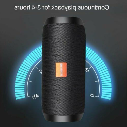 40W Speaker Wireless Stereo USB/TF/AUX FM