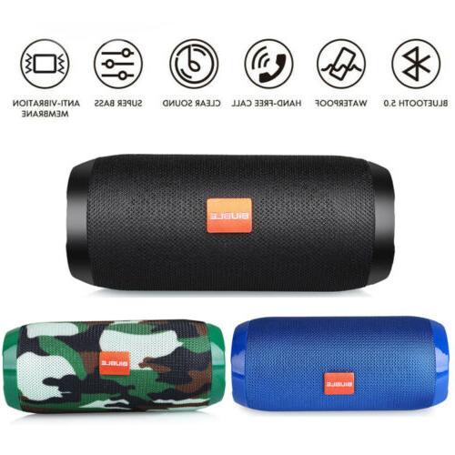 loud bluetooth speaker wireless outdoor stereo bass