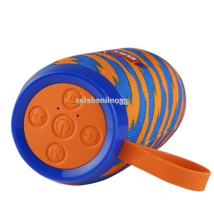 LOUD Bluetooth Outdoor Stereo Bass Loudspeaker USB/TF/FM Radio