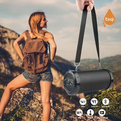 LOUD Bluetooth Speaker Waterproof USB/TF/FM Radio