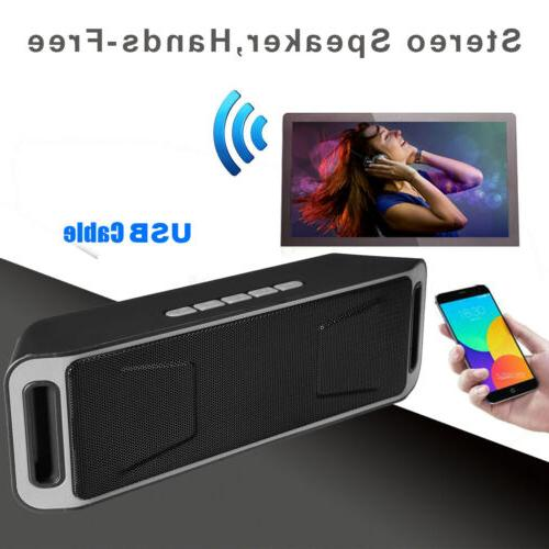 Portable Bluetooth Wireless Super Bass Mini Speaker for iPho