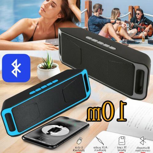 loud bluetooth speaker wireless waterproof outdoor stereo