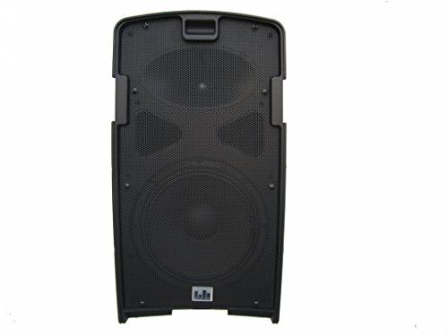 MUSYSIC PA2K Portable PA Speakers Dual Mic Rechargeable Battery